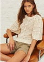 Claire Knitted Jumper - Ecru additional image