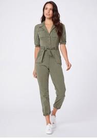 Paige Denim Mayslie Jumpsuit - Vintage Ivy Green