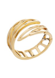 RACHEL JACKSON Wings of Freedom Ring - Gold
