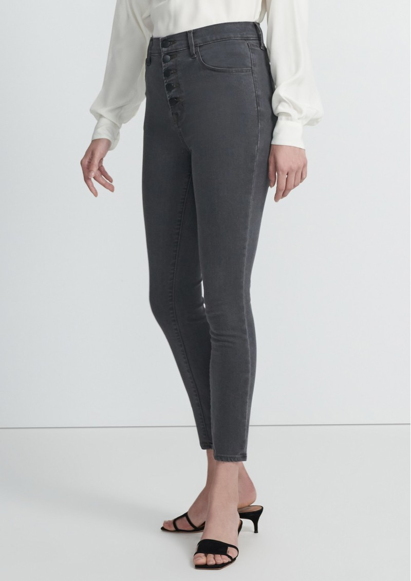 J Brand Lillie High Rise Photo Ready Crop Skinny Jeans - Sleek main image