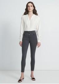 J Brand Lillie High Rise Photo Ready Crop Skinny Jeans - Sleek