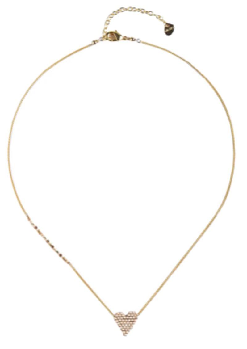 MISHKY Heartsy Beaded Necklace - Gold main image