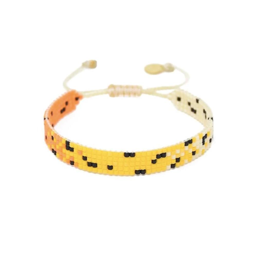 Kitty Beaded Bracelet - Yellow