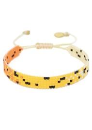 MISHKY Kitty Beaded Bracelet - Yellow