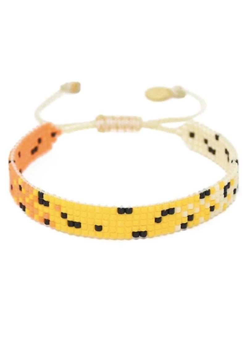 MISHKY Kitty Beaded Bracelet - Yellow main image