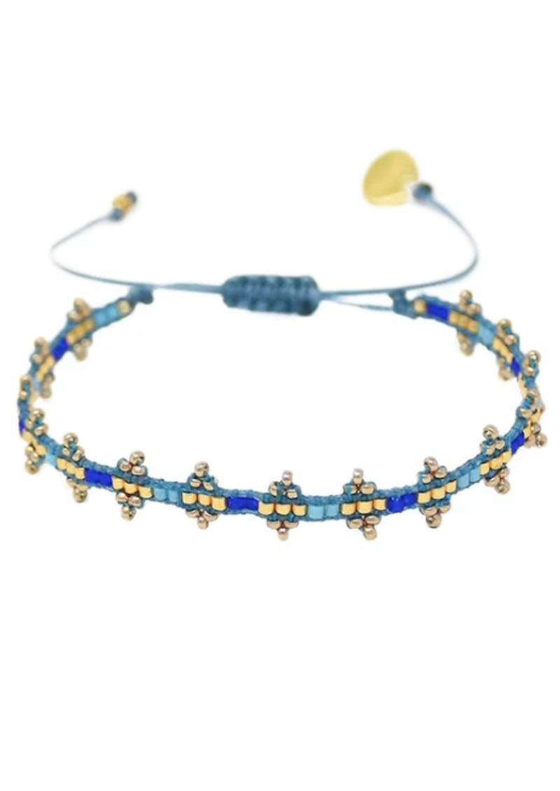 MISHKY Shanty Beaded Bracelet - Blue main image