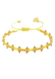 MISHKY Shanty Beaded Bracelet - Yellow