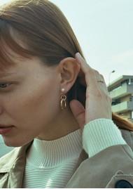 MARIA BLACK Chrissy Earring - Silver