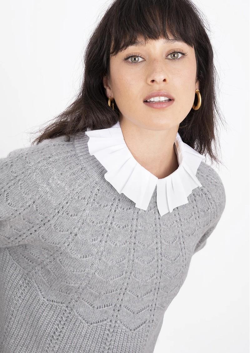 COCOA CASHMERE Layla Cashmere Jumper - Grey main image