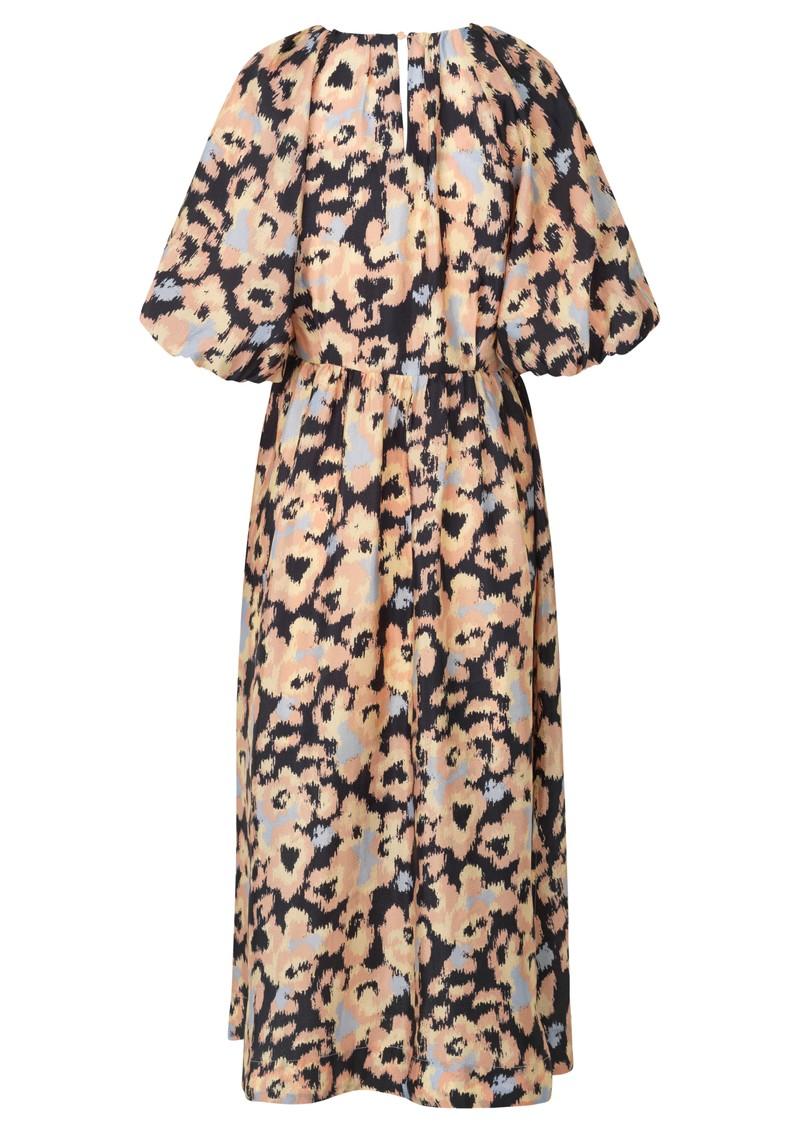 SECOND FEMALE Ruth Printed Dress - Deep Well main image