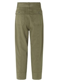 SECOND FEMALE Terry Utility Trousers - Olive Night