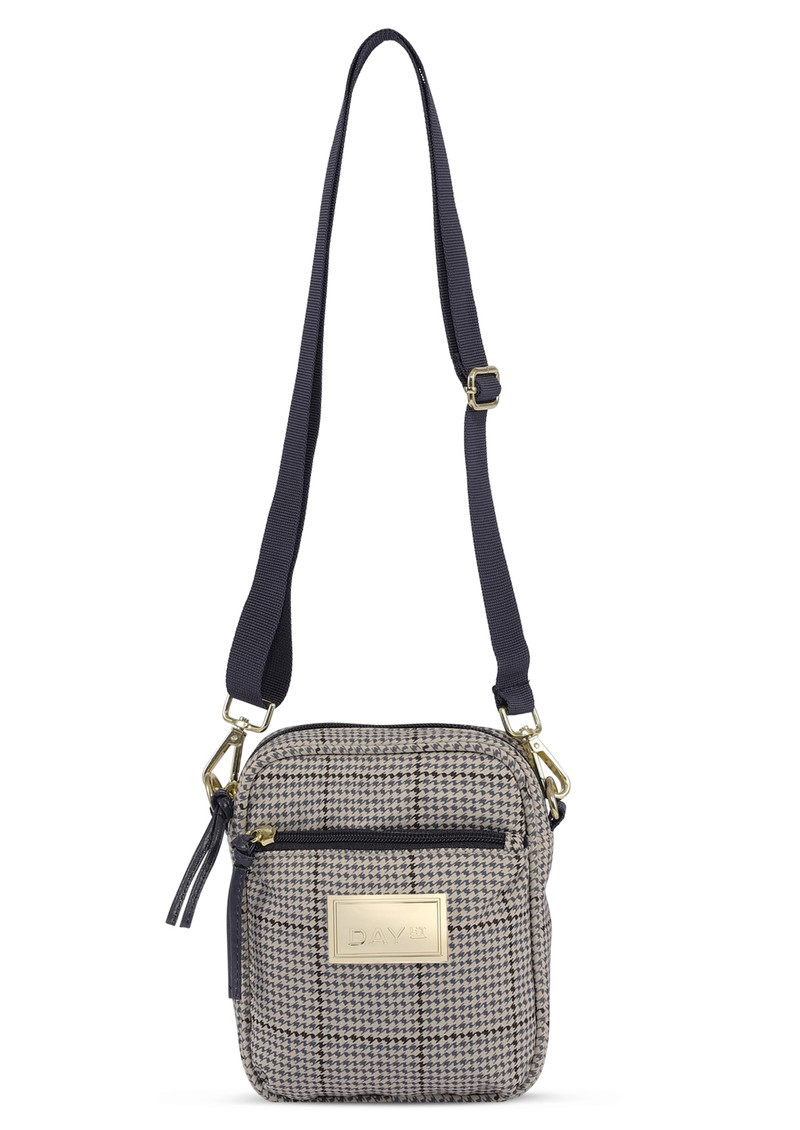 DAY ET Day Gweneth Check Crossbody Bag - Blue Nights main image