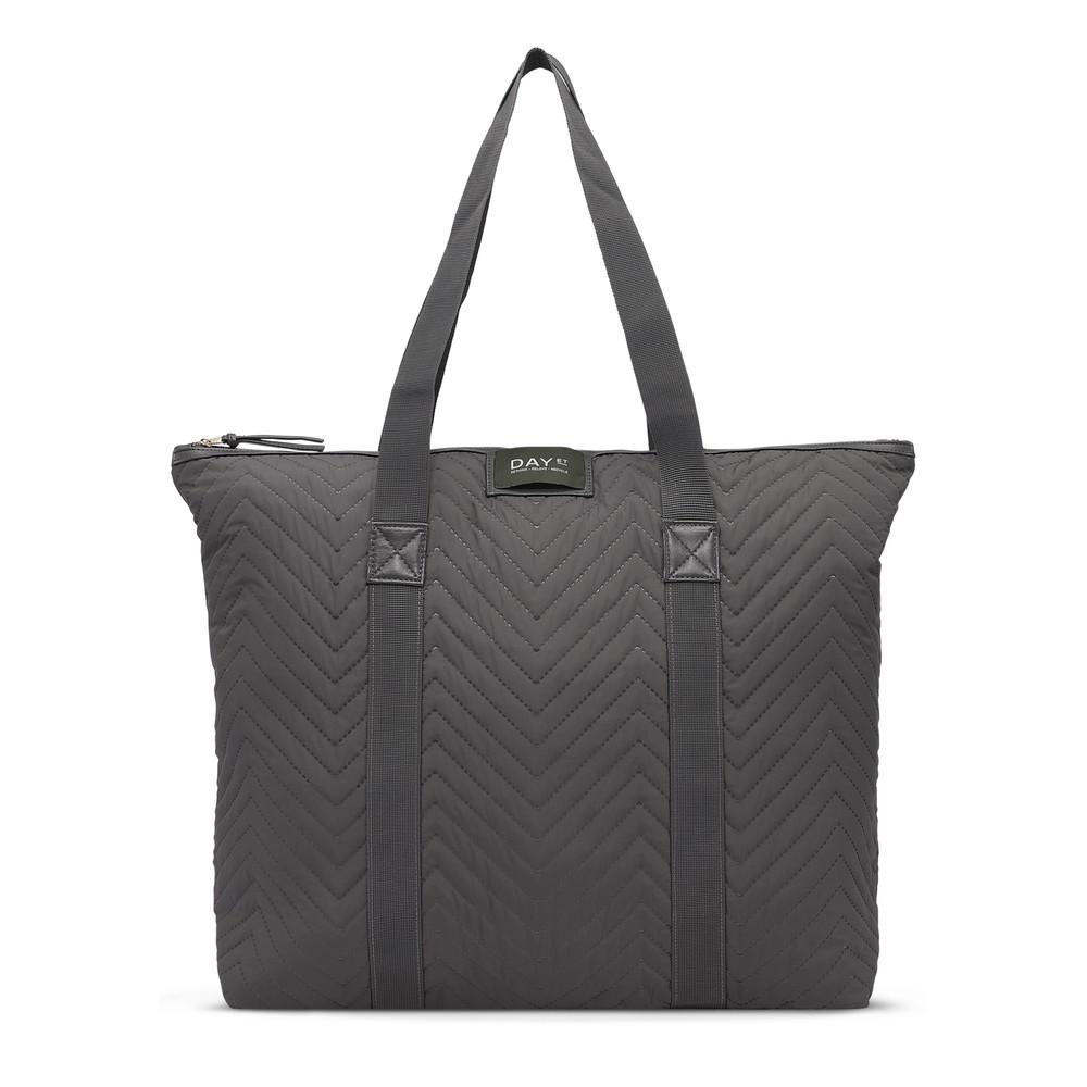Gweneth RE- X Chewron Bag - Forged Iron