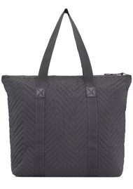 DAY ET Gweneth RE- X Chewron Bag - Forged Iron