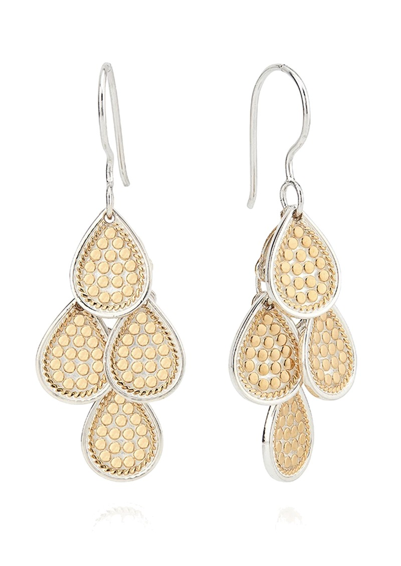 ANNA BECK Classic Beaded Chandelier Earrings - Gold main image