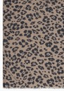 Floral Leopard Silk & Wool Blend Scarf - Parchment additional image