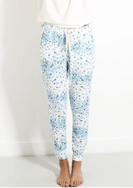 STRIPE & STARE Lounge Pant - Periwinkle