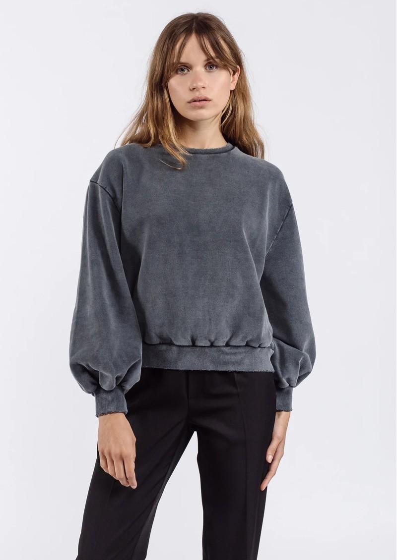 AME ANTWERP Clemence Sweatshirt - Charcoal main image