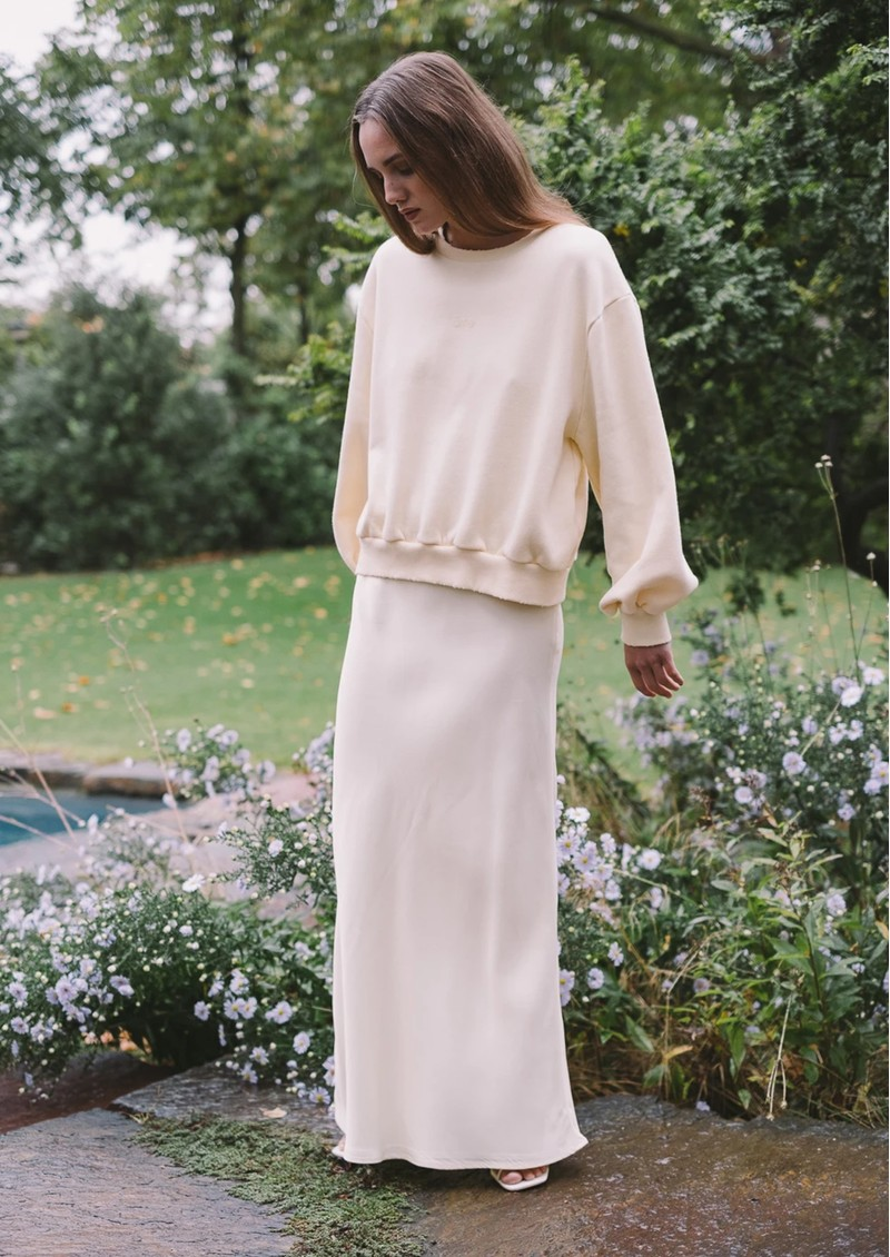 AME ANTWERP Clemence Sweatshirt - Yellow main image