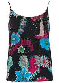 STARDUST Faye Camisole - Black Floral