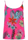 Faye Camisole - Neon Pink Floral additional image