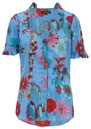 Alice Blouse - Blue Floral additional image