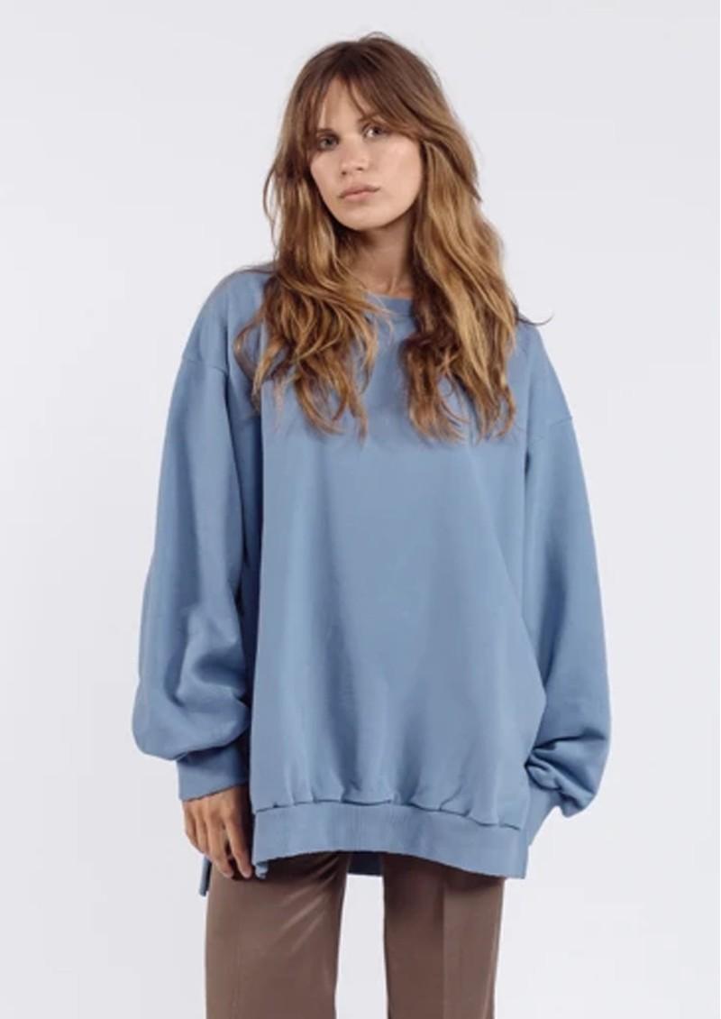 AME ANTWERP Ulla Oversized Sweatshirt - Blue main image