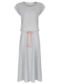 NOOKI Montrose Cotton Dress - Grey Marl