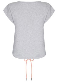 NOOKI Matilda Cotton Top - Grey Marl