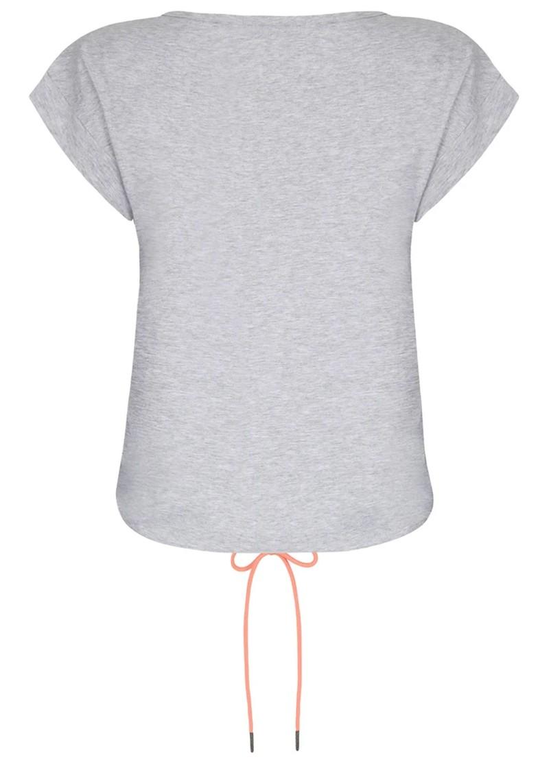 NOOKI Matilda Cotton Top - Grey Marl main image