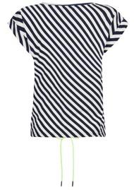 NOOKI Matilda Cotton Top - Navy Stripe