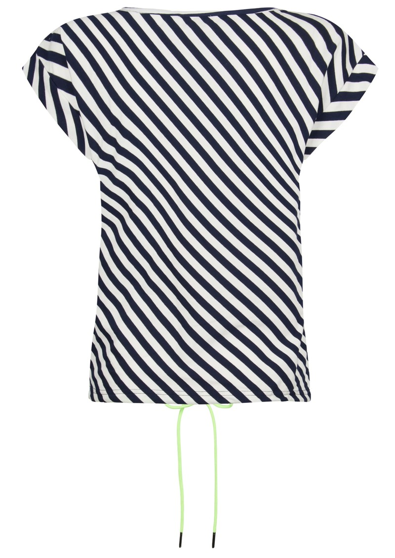 NOOKI Matilda Cotton Top - Navy Stripe main image