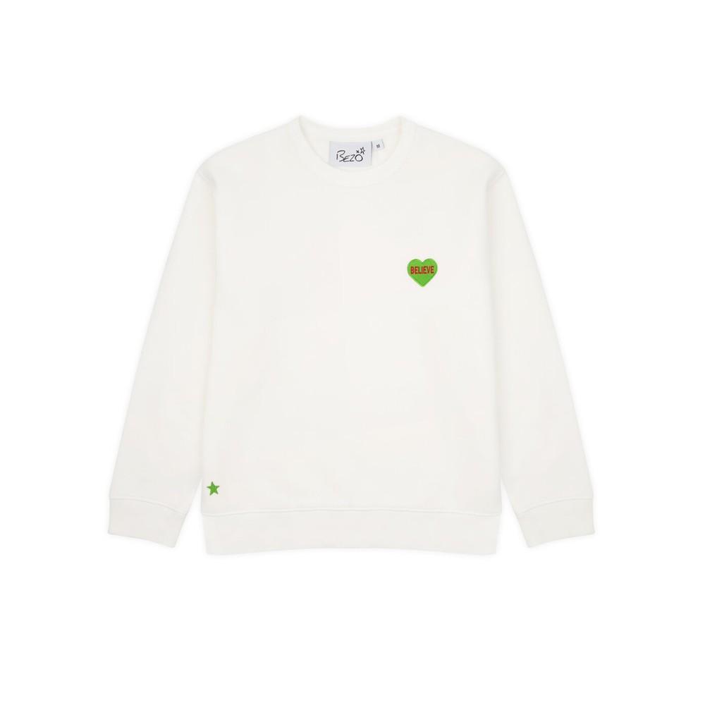 Classic Love Heart Sweatshirt - Believe