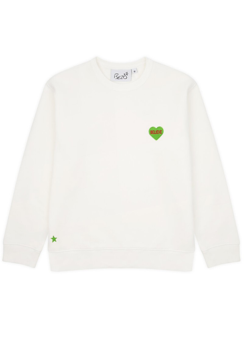 BEZO Classic Love Heart Sweatshirt - Believe main image