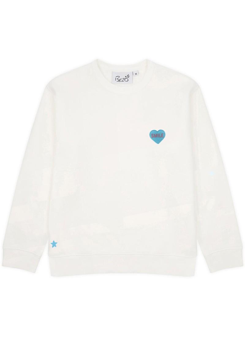 BEZO Classic Love Heart Sweatshirt - Smile main image