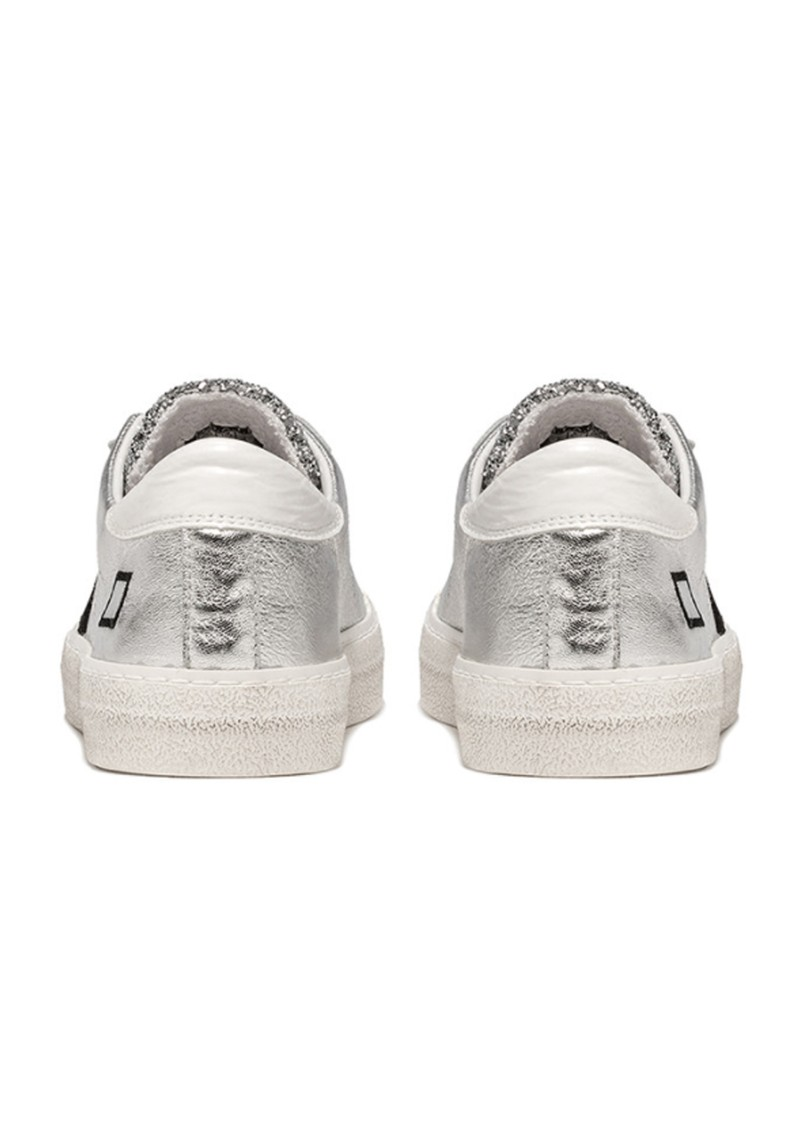 D.A.T.E Hill Low Trainers - Silver Glitter main image