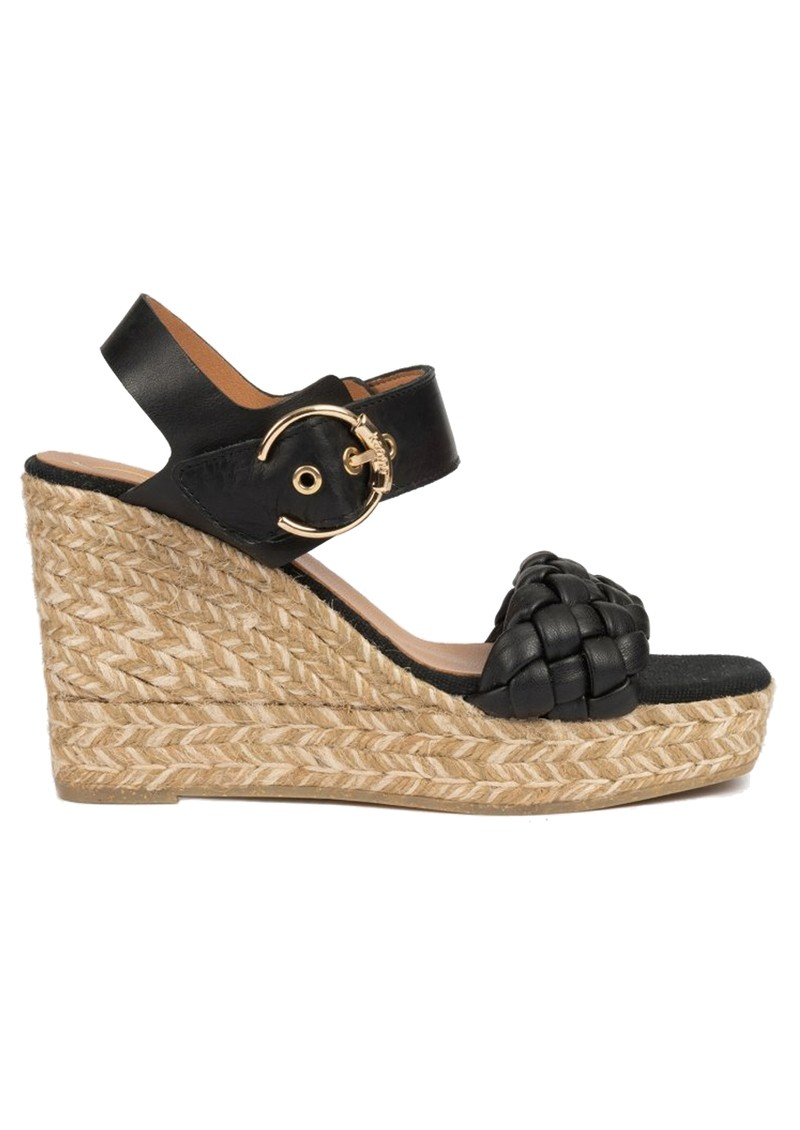 Sonia Braided Espadrille - Black main image