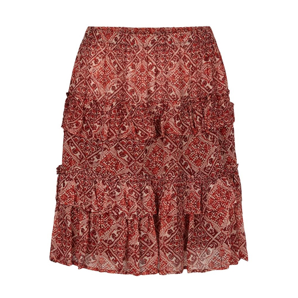 Beate Short Skirt - Poppy