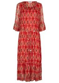 MOLIIN Vicki Dress - Calypso Coral