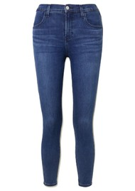 J Brand Alana High Rise Crop Skinny Jeans - Intrepid