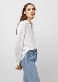 Rails Charli Linen Shirt - Tie Dye Star
