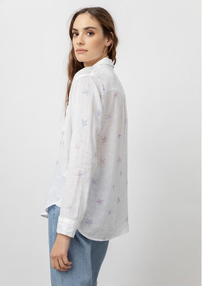 Rails Charli Linen Shirt - Tie Dye Star main image