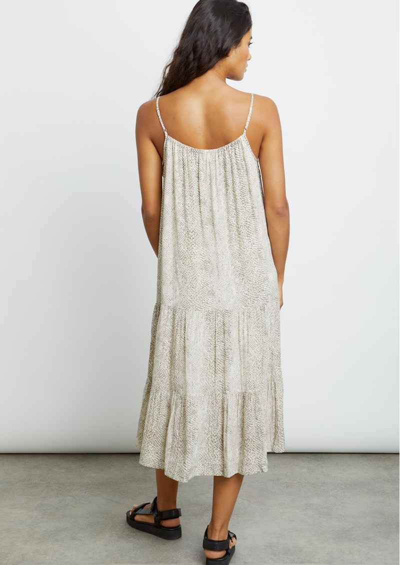 Rails Adora Dress - Cream Snakeskin main image