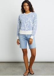 Rails Ramona Sweater - Blue Mix Animal