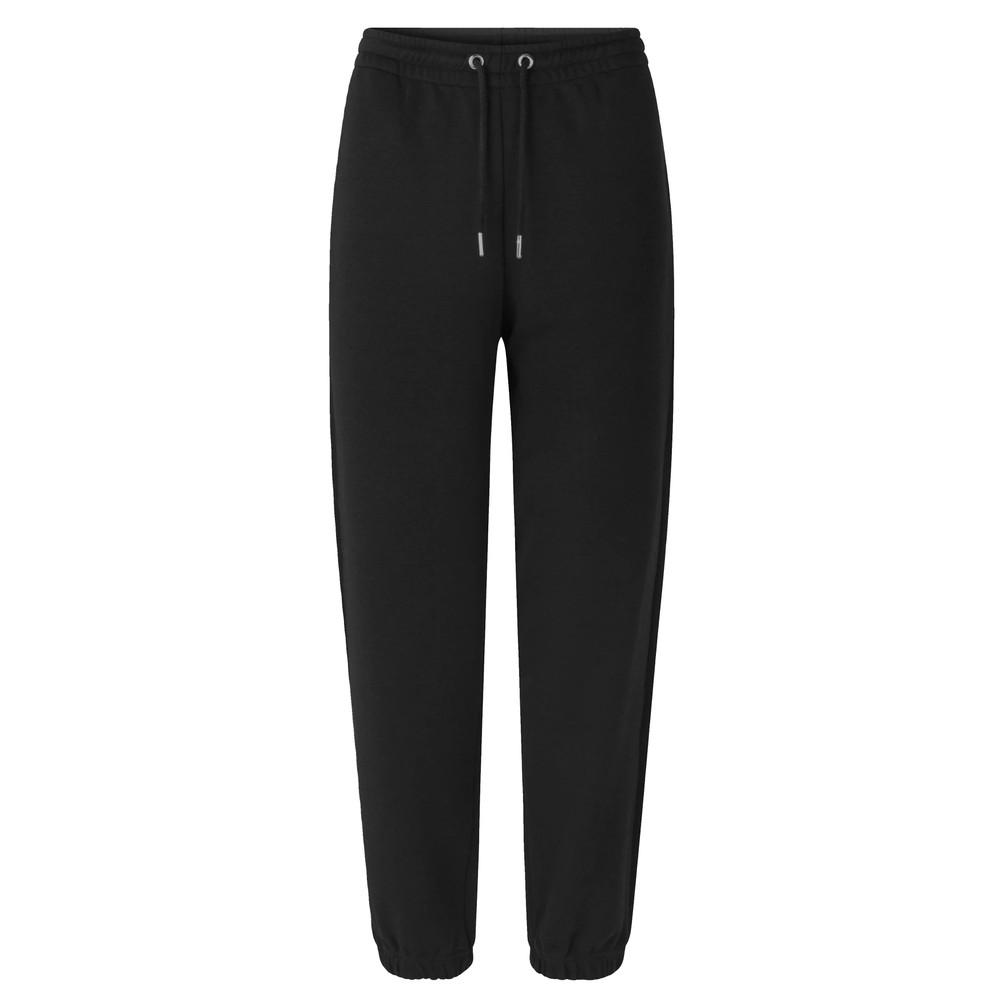 Carmella Cotton Sweat Pants - Black