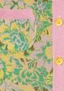 Samui Blooms Jacquard Maxi Cardi Dress - Pink & Green additional image