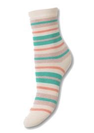 Becksondergaard Dalea Multi Stripe Socks - Silver Gray