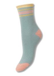 Becksondergaard Sportey Pasha Socks - Blue Surf