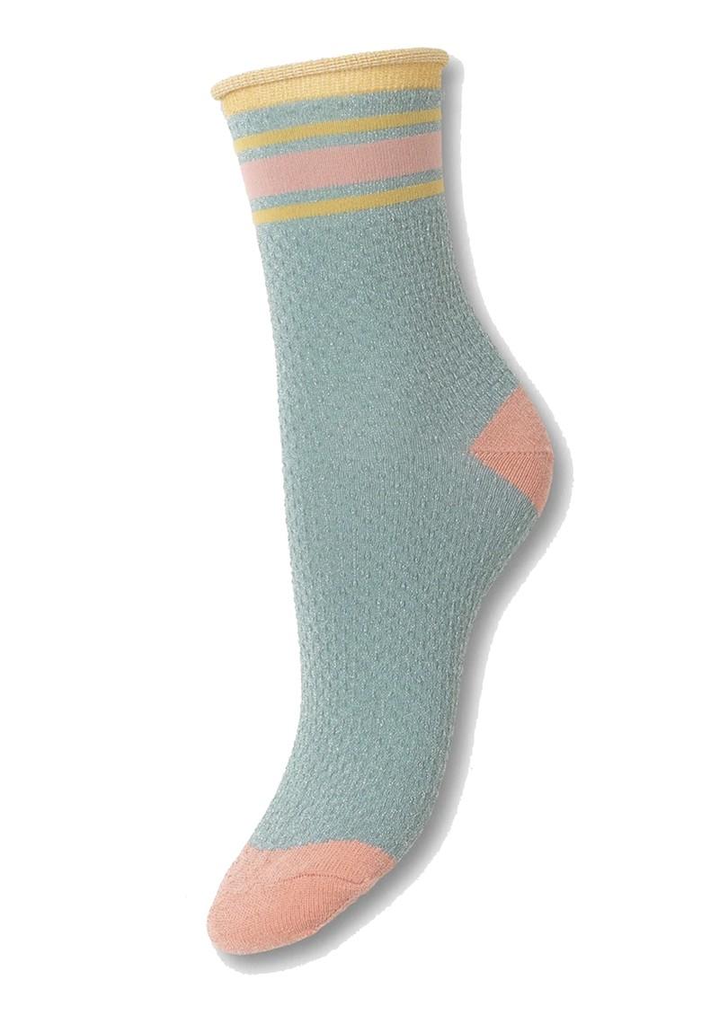 Becksondergaard Sportey Pasha Socks - Blue Surf main image
