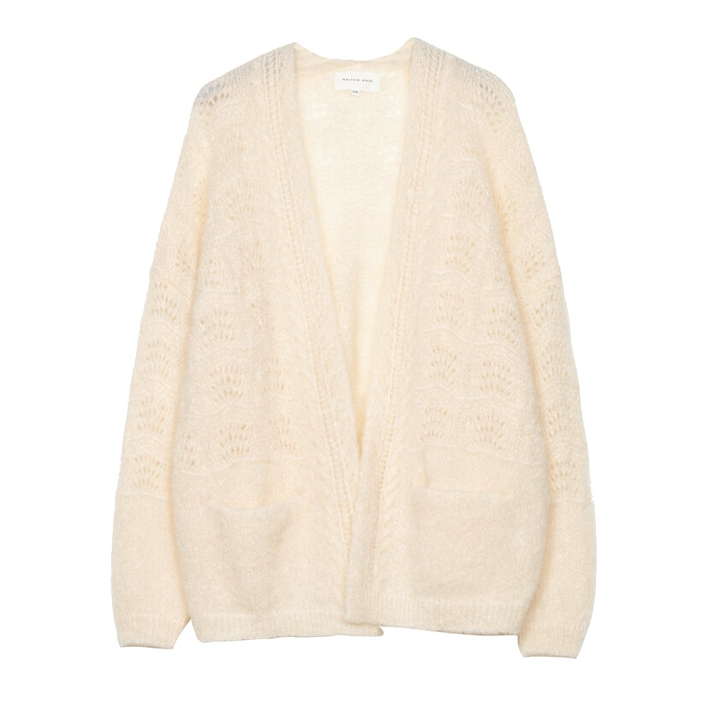 Lours Knitted Cardigan - Cream